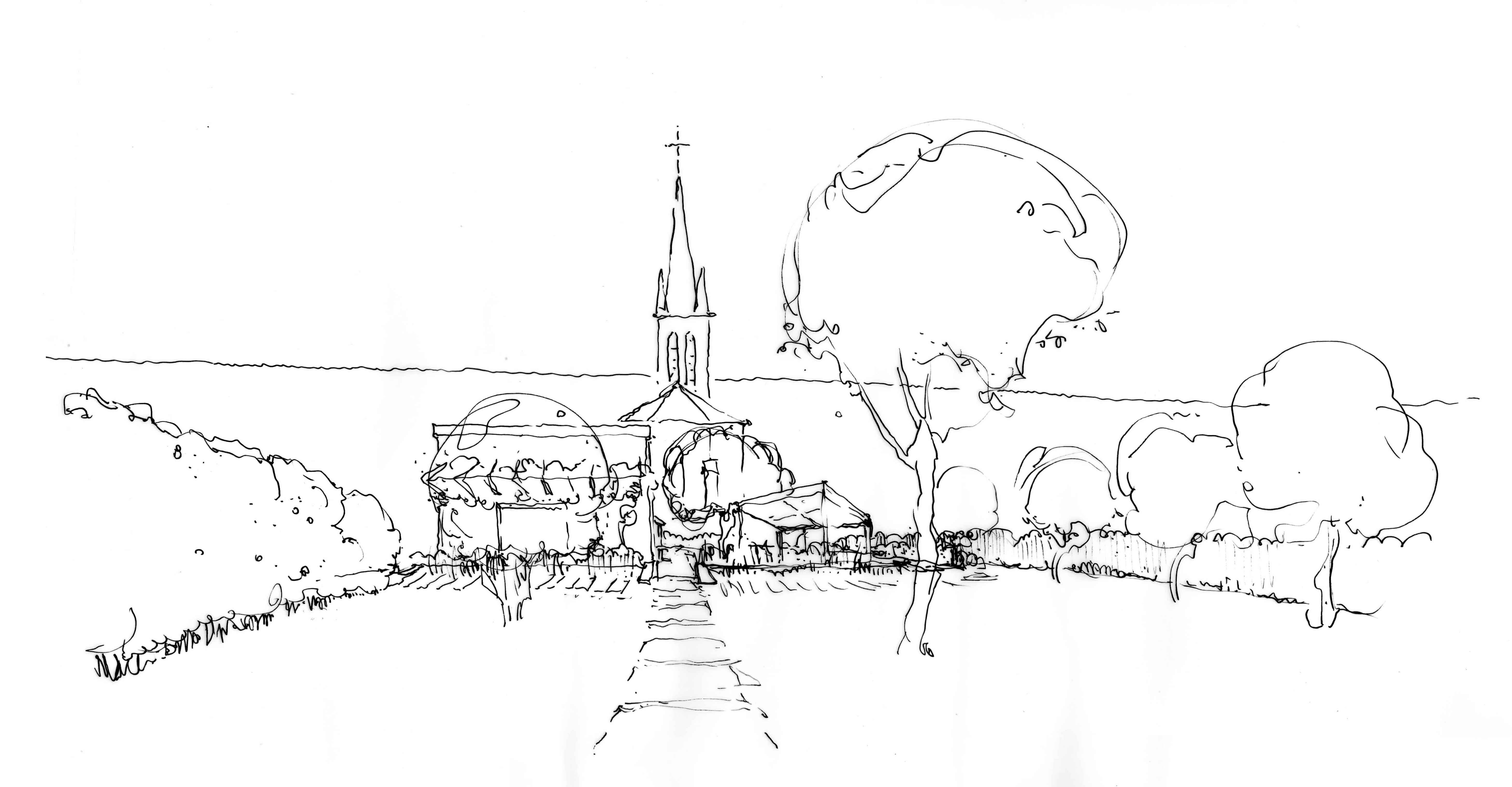 jardin montauville-croquis 1